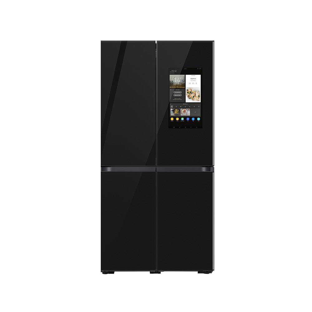 삼성전자 비스포크 4도어 프리스탠딩 패밀리허브 냉장고 RF85T95H333C 859L 방문설치, RF85T95H333C (그램딥차콜)