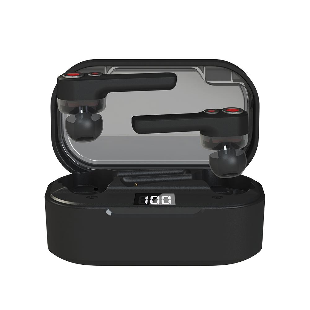 앱코 BEATONIC 블루투스 이어폰, E09, 블랙