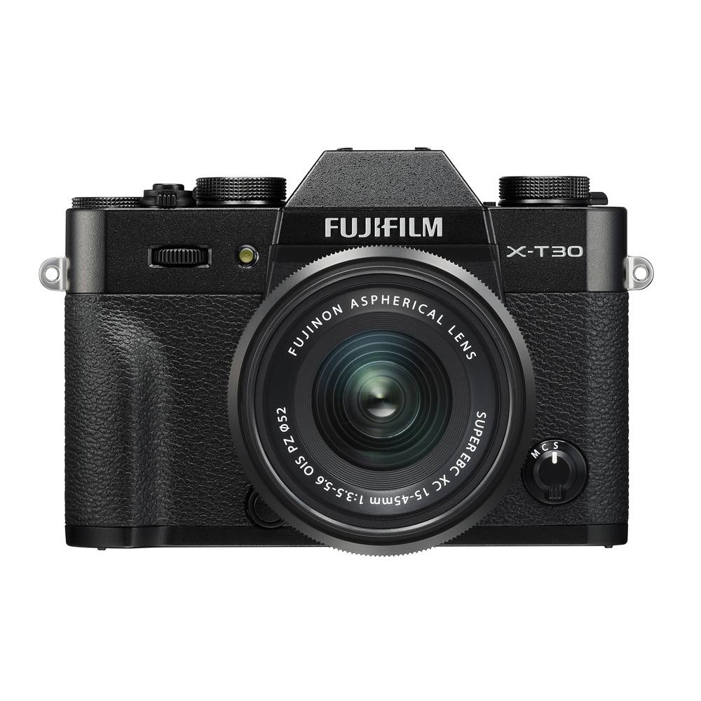 후지필름 X-T30 15-45mm Kit 카메라 블랙
