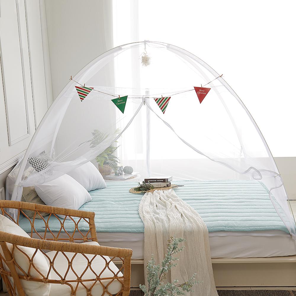 모네트 원터치 침대모기장 텐트형