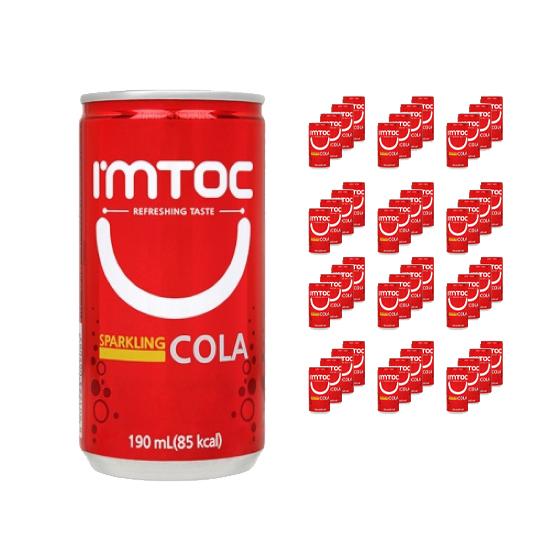 아임톡 콜라, 190ml, 60개