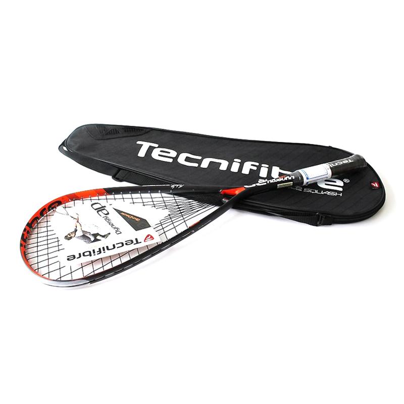 테크니화이버 아치파워 125 스쿼시라켓 + 라켓커버 세트