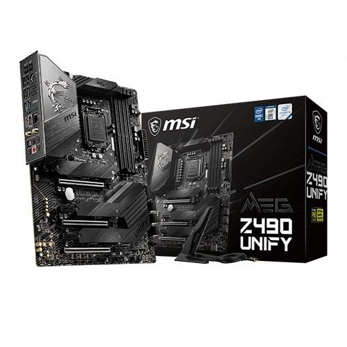 MSI 메인보드 MEG Z490 유니파이 MS-7C71