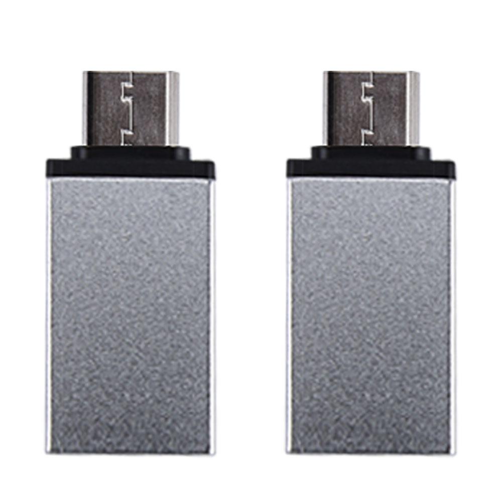 칼론 USB3.0 C타입 OTG젠더 2p, KR-COTG(실버)