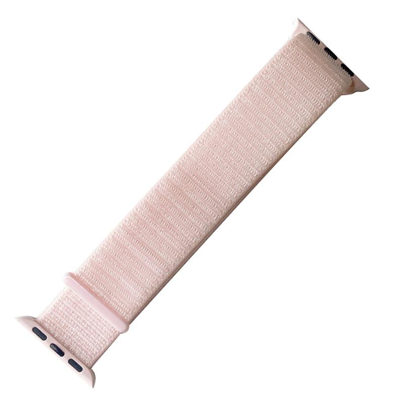 오펜트 애플워치 3/4/5 스포츠 루프 밴드 (42/44mm 호환 가능), Pearl Pink, 1개