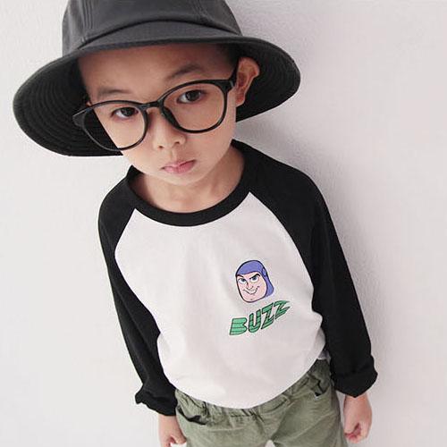 소년마켓 남아용 버즈 라그랑 긴팔 티셔츠
