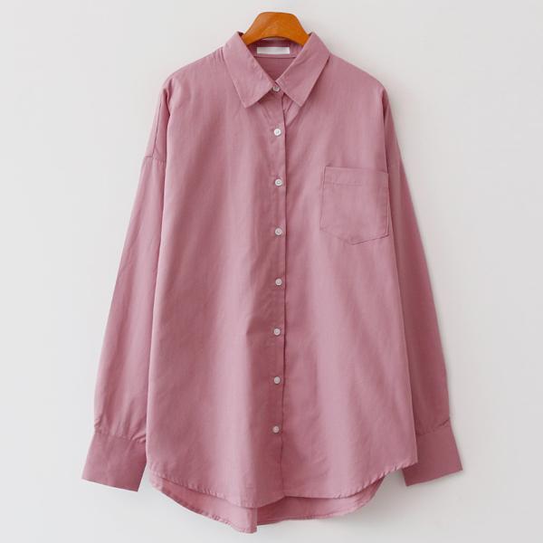 엔비룩 여성용 미스티 롱셔츠