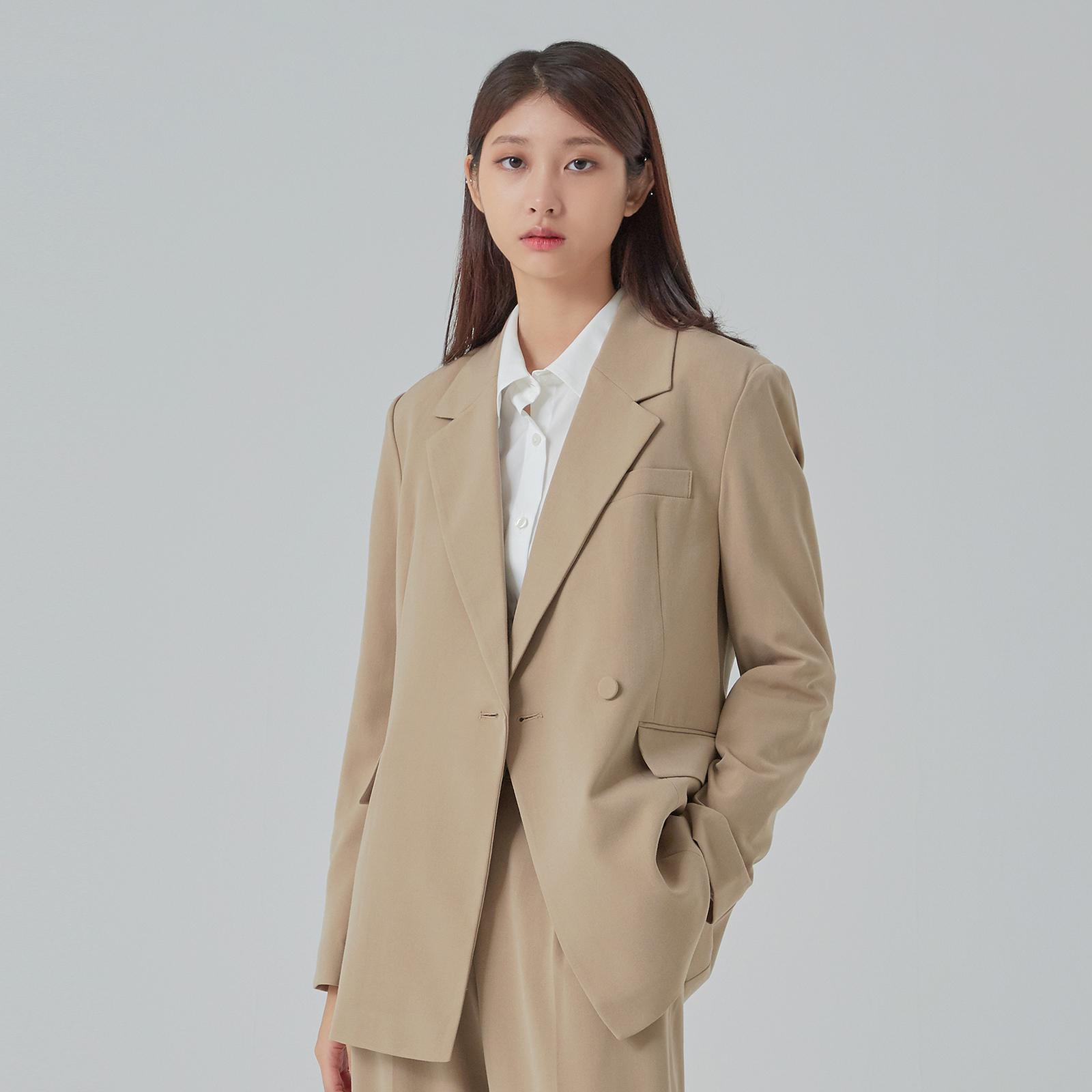 미쏘 여성용 테일러드 슬림핏 반더블 자켓