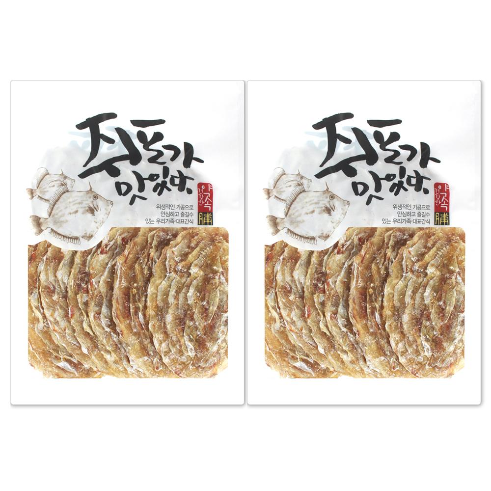 해야미 참쥐포 대 15장, 310g, 2개