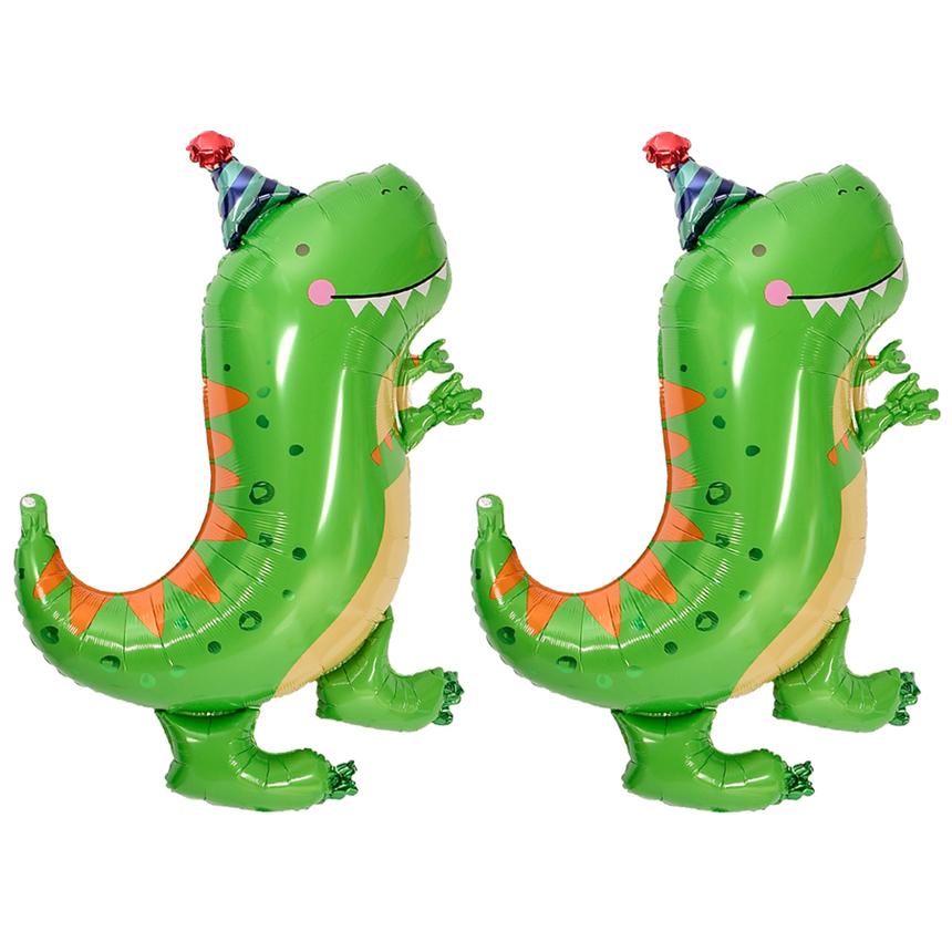 아나그램 은박풍선 Dinomite t rex 슈퍼쉐입, 그린, 2개