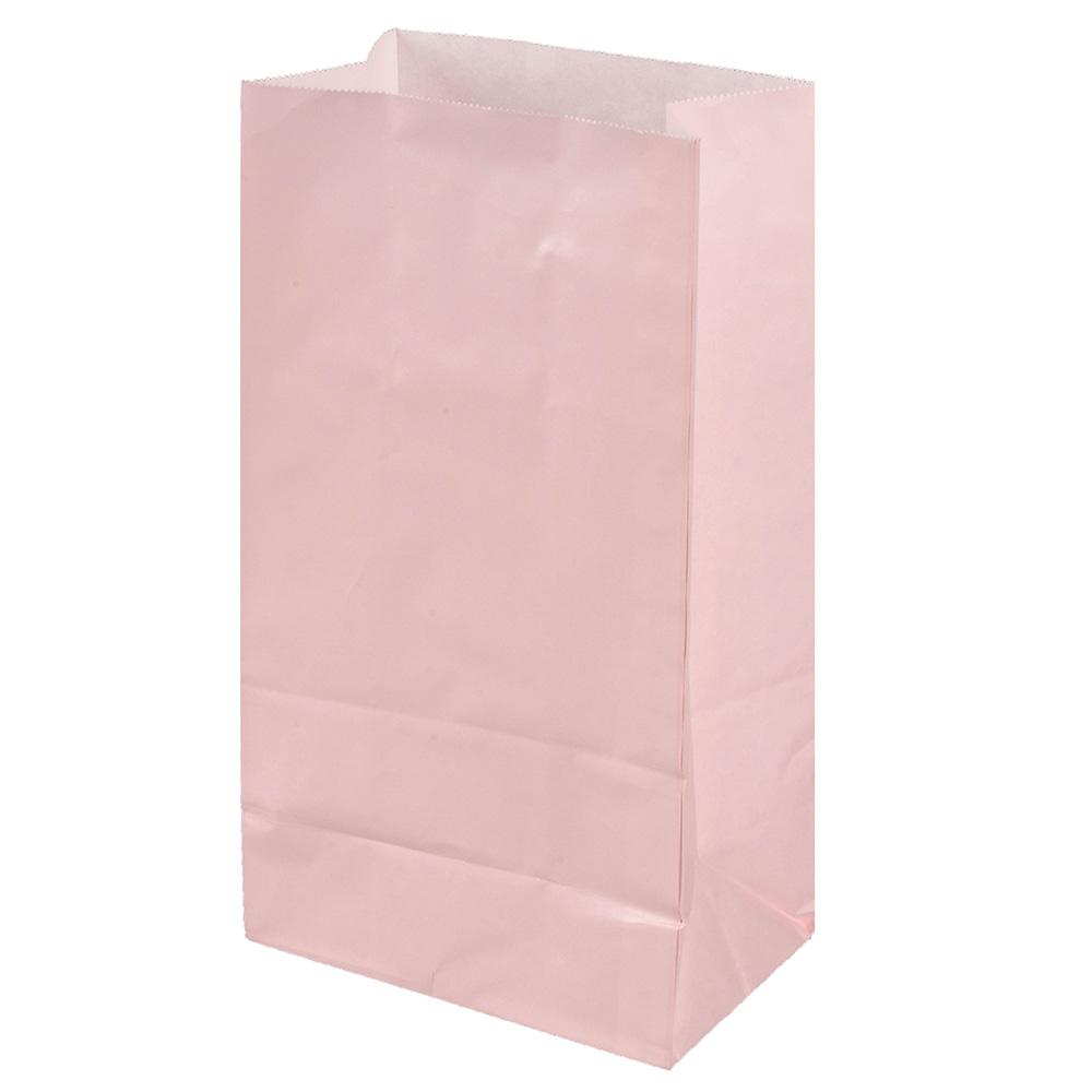 종이 각대봉투 중, 핑크색, 100개