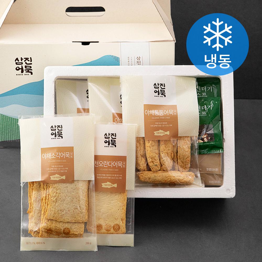 삼진어묵 종합 어묵 선물 세트 1368g (냉동), 1박스