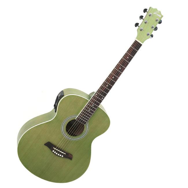 Sus4 EQ장착 어쿠스틱 기타, Solo-150N, 연두
