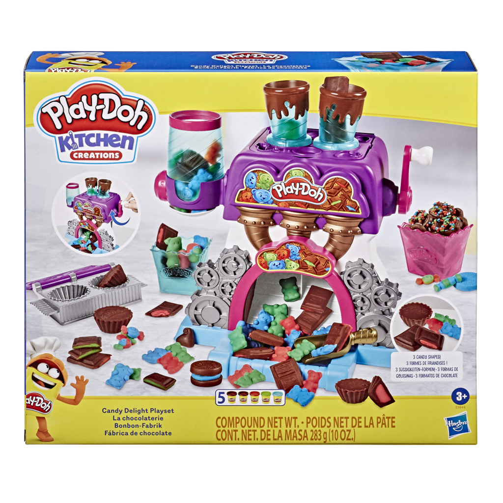 플레이도 미니쉐프 초콜렛 만들기 클레이, 혼합색상, 1600g