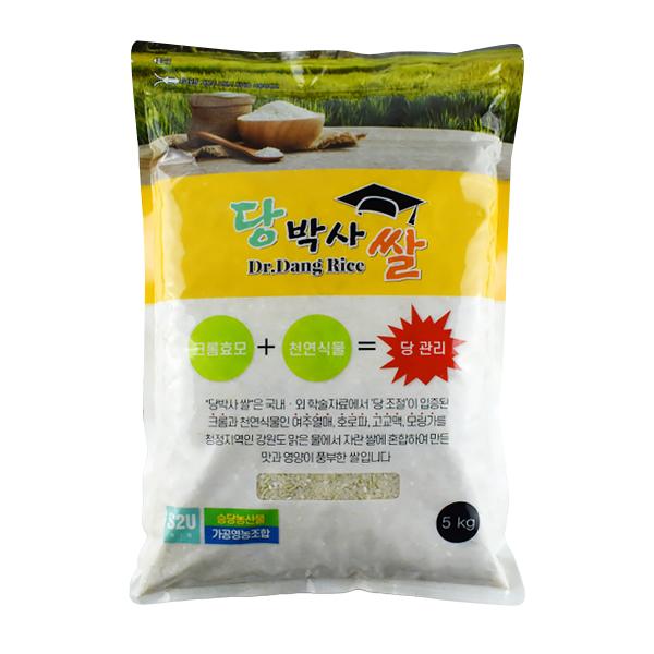 당박사 당관리 쌀, 5kg, 1개