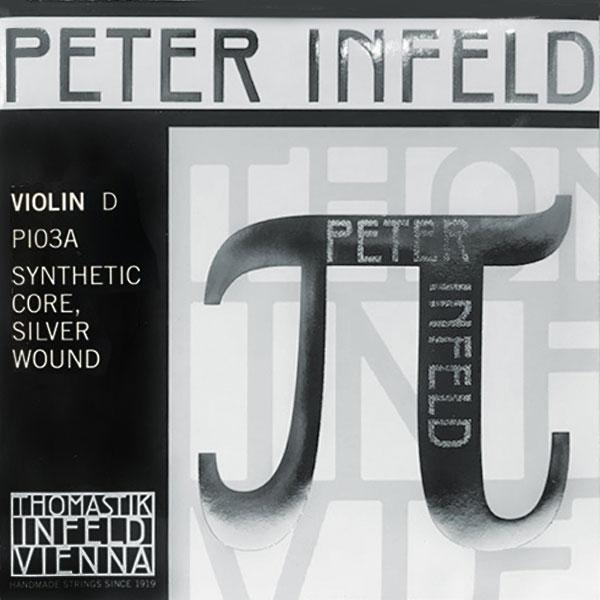 시티악기 토마스틱 스트링 피터 인펠트 파이 바이올린 D현, 단일상품, 단일색상