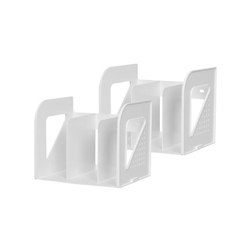 리템 EL 3단 책꽂이 2p, WHITE