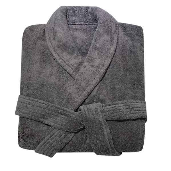 송월타월 프리미엄 바스로브 샤워가운 XL, 다크그레이, 1개