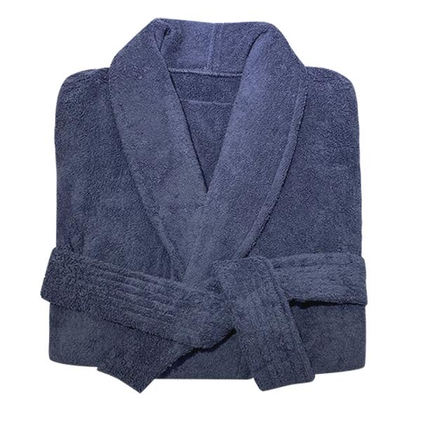 송월타월 프리미엄 바스로브 샤워가운 XL, 다크네이비, 1개