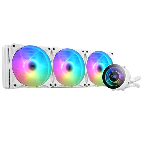 darkFlash AZ Twister CPU 수냉쿨러 화이트 DX-360 ARGB
