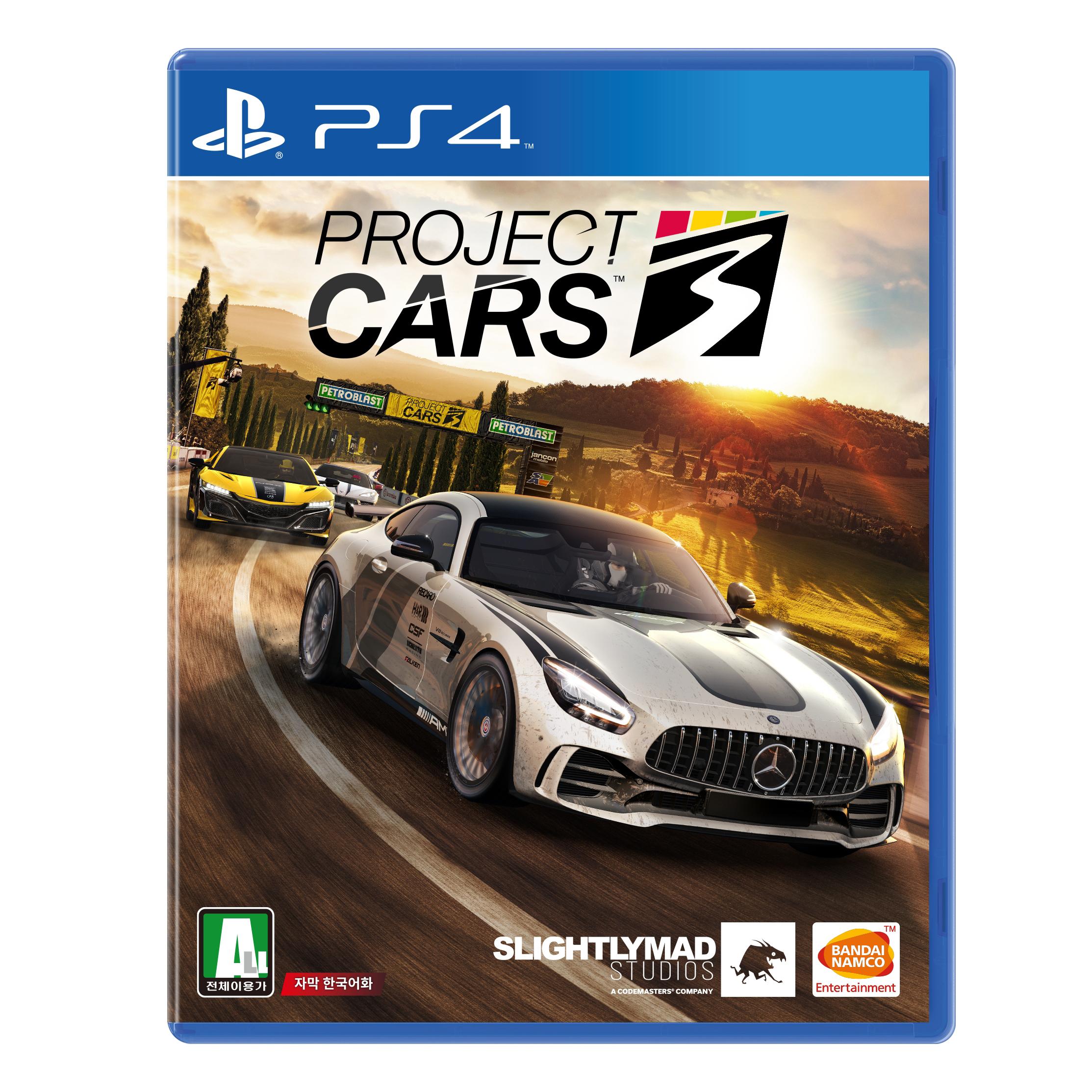 PS4 프로젝트 카스 3 한글판, 단일상품