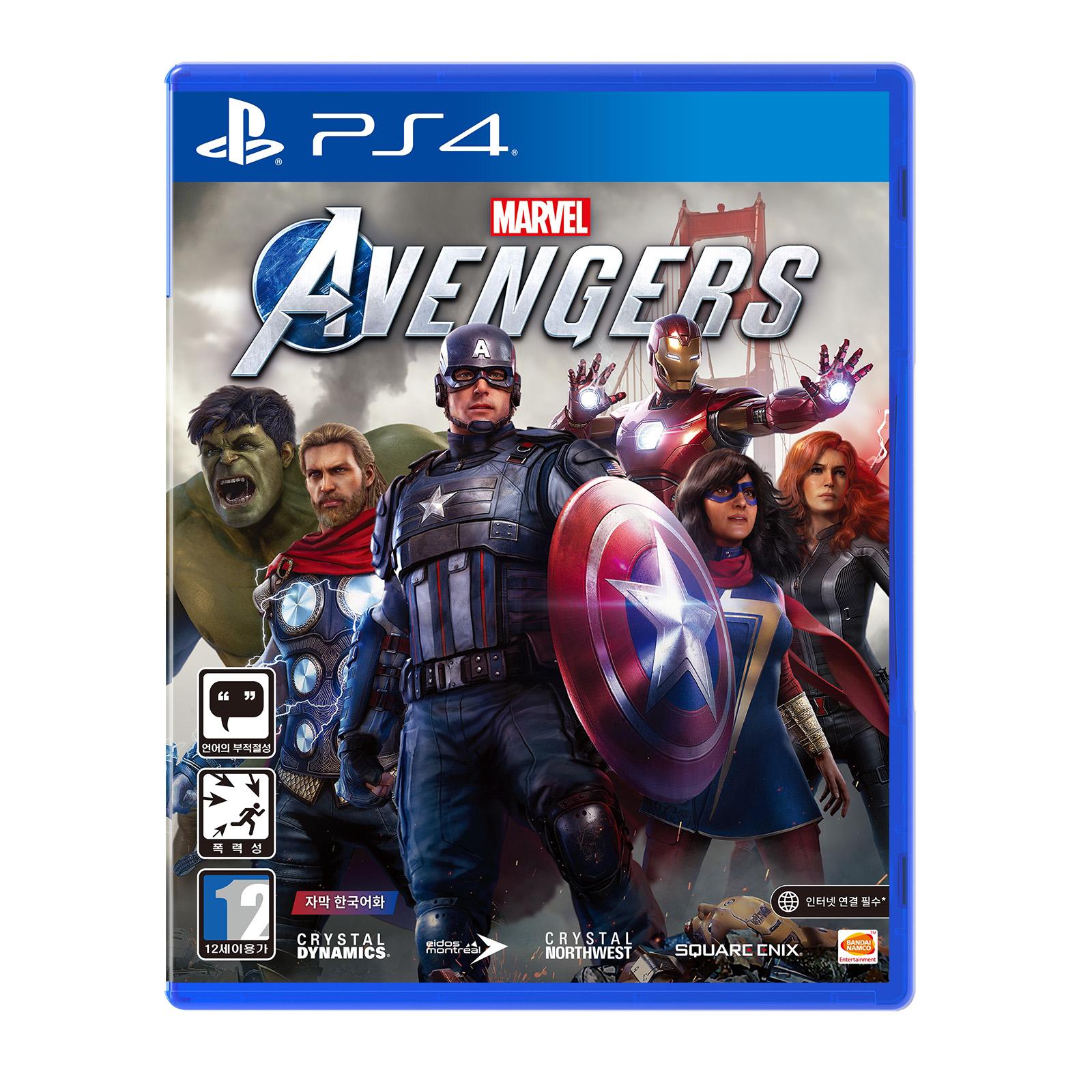 PS4 마블 어벤져스 스탠다드 에디션 한글판, 단일상품