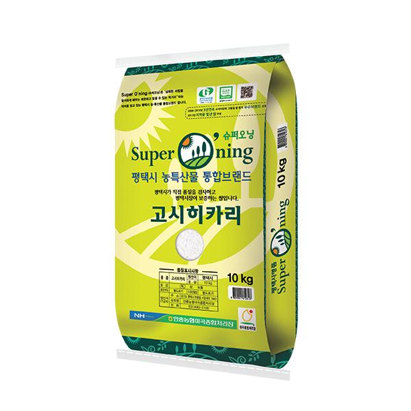 슈퍼오닝 2020년 고시히카리 쌀, 10kg, 1개