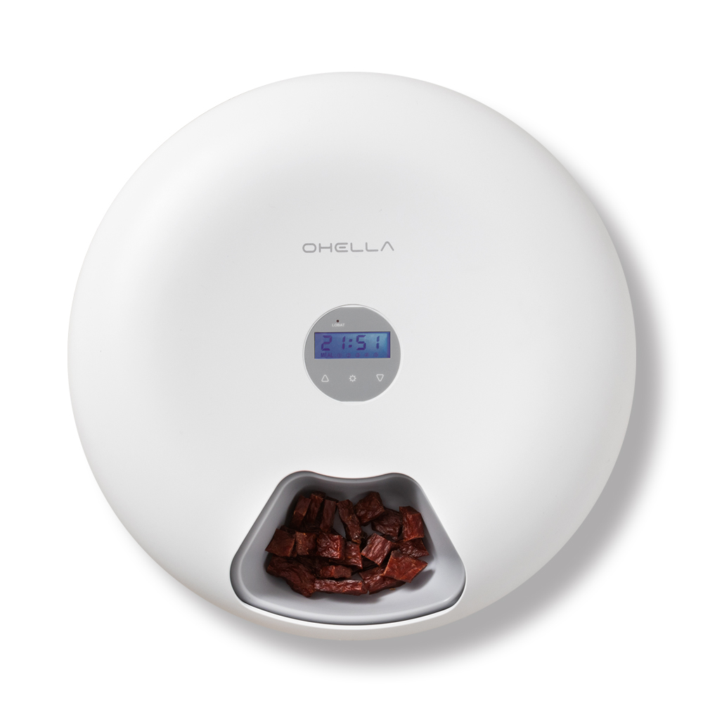 오엘라 자동급식기 PF01, 1kg, 혼합색상