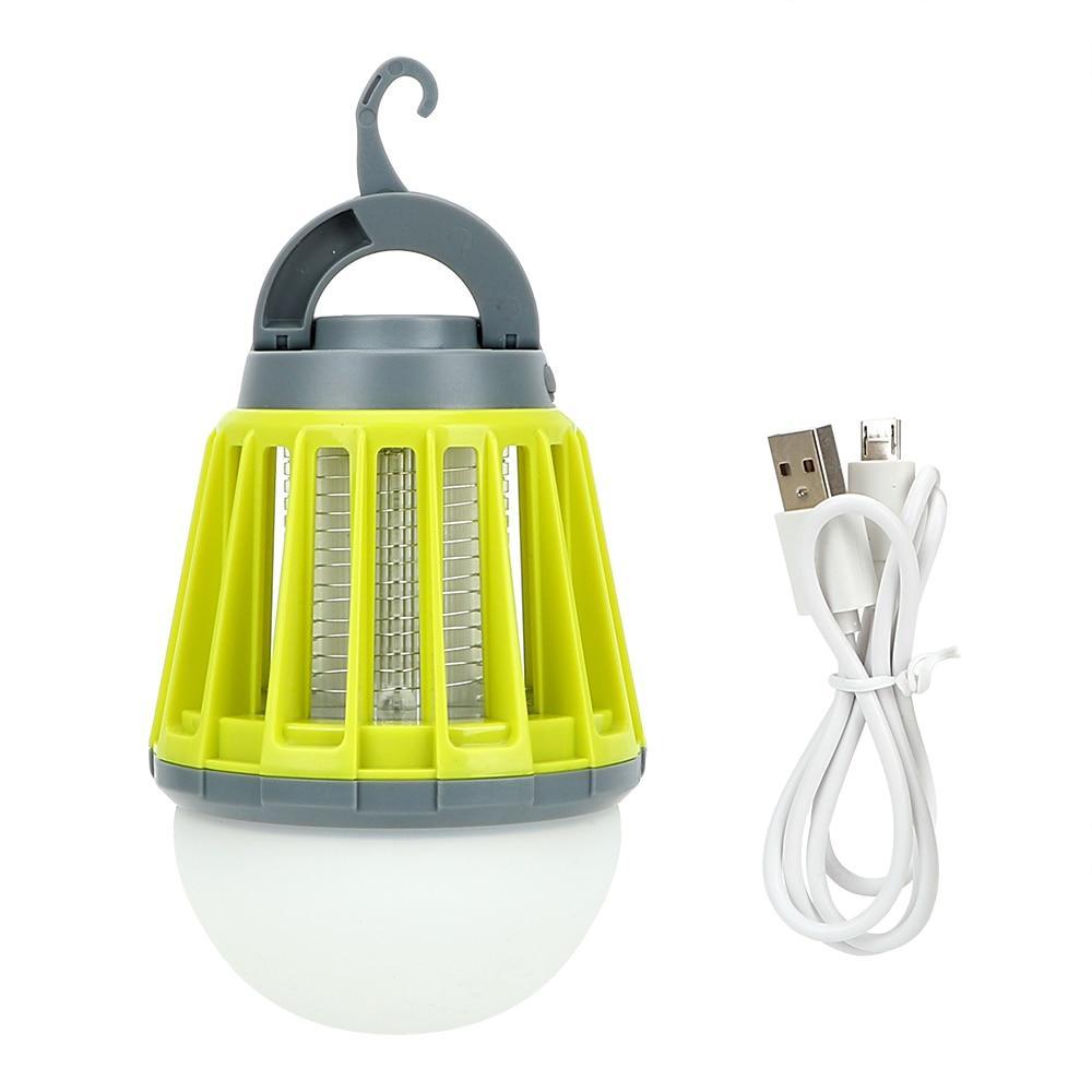 USB 충전식 모기잡는 LED 캠핑랜턴  그린  1개캠프365 2in1 해충킬러 랜턴  그린티나인 3in1 모기퇴치기 캠핑랜턴
