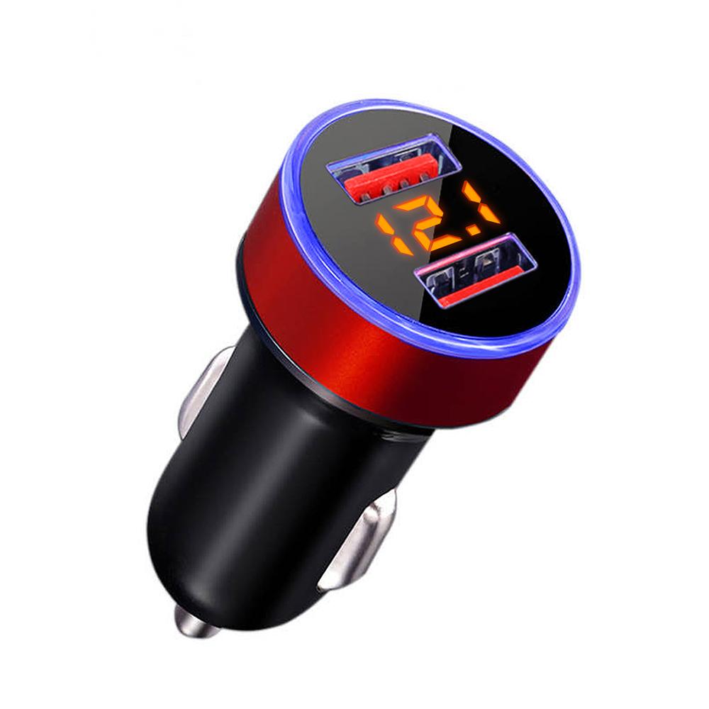 삼에스 차량용 듀얼 QC3.0 시거잭 12/24v겸용 고속 충전기, b23, 혼합색상