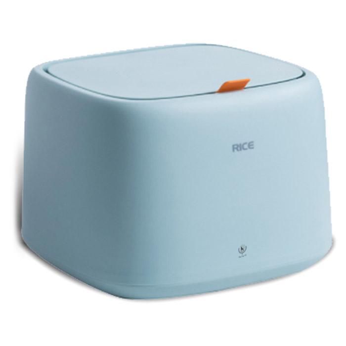딩동펫 반려동물 밀폐형 사료보관통 + 계량컵, 스카이
