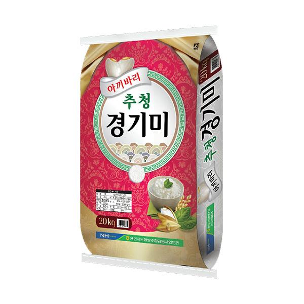 농협 용인 추청 경기미, 20kg, 1개