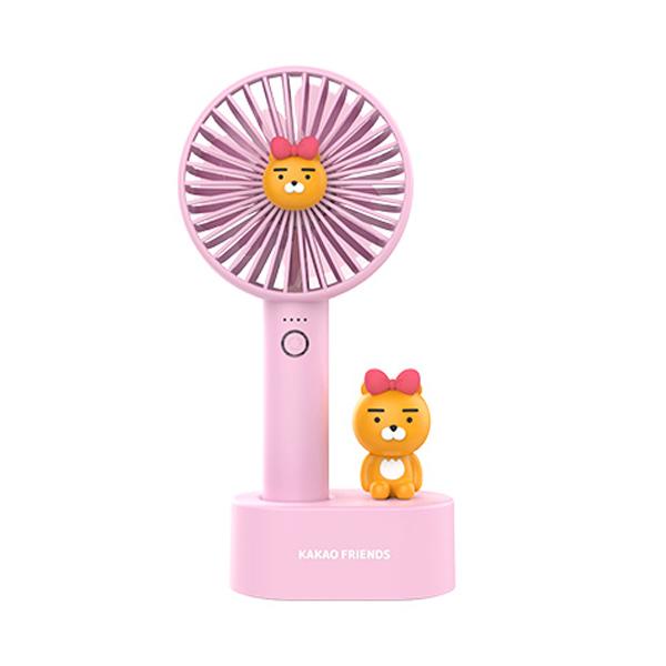 카카오프렌즈 썸머 블로우 핸디 선풍기, FAN100, 리본라이언 (POP 2006290906)