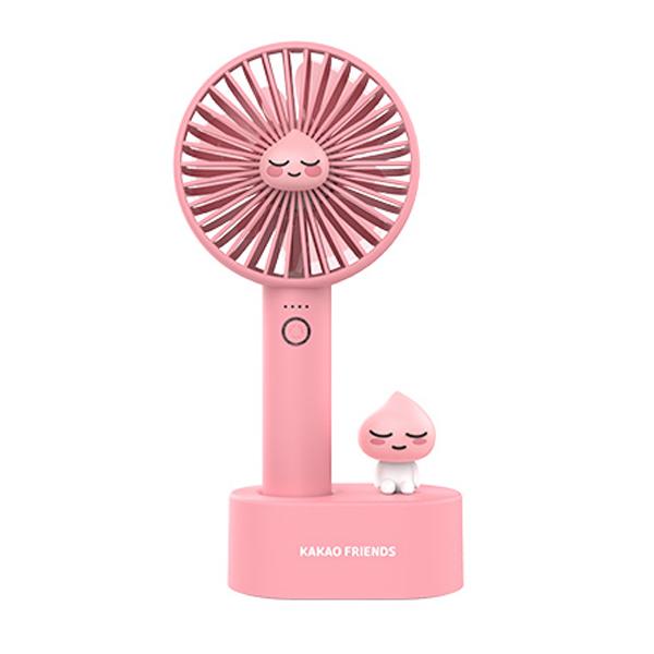 카카오프렌즈 썸머 블로우 핸디 선풍기, FAN100, 어피치 (POP 2006290906)