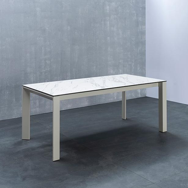 리바트 비토 6인 세라믹식탁 방문설치, 화이트마블