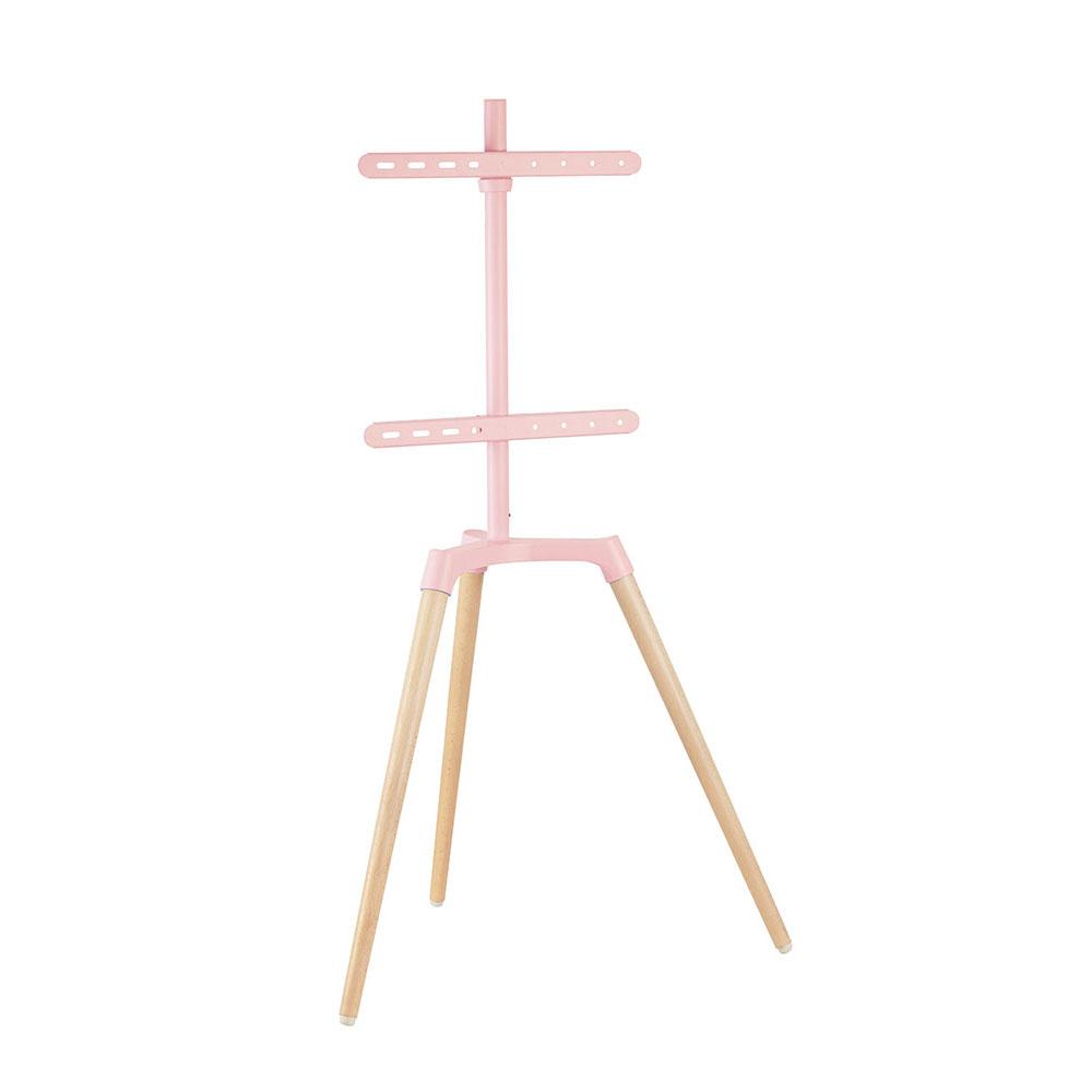 엣지월 Edge3 이젤형 TV 아트 스탠드 + 네트망 + 케이블타이 세트, Edge3(핑크)