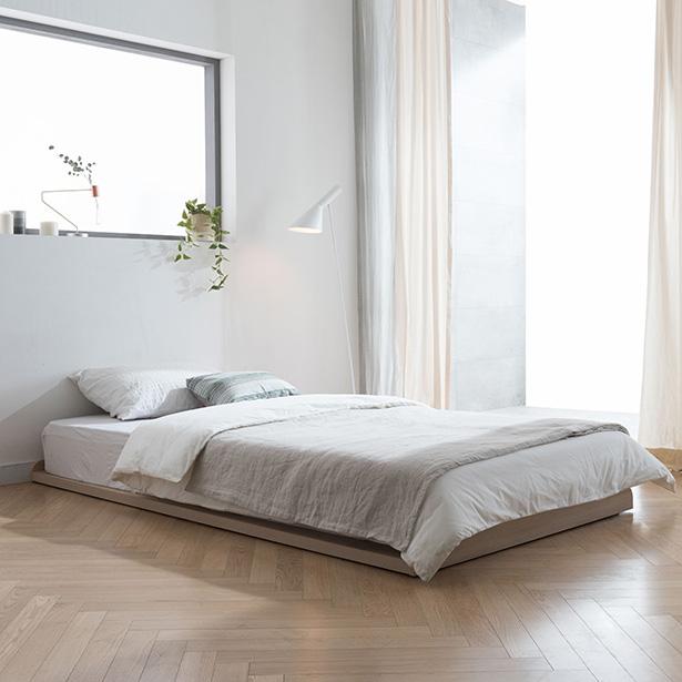 리바트 뉴트 저상형 침대 기본형 + E3포함, 오크