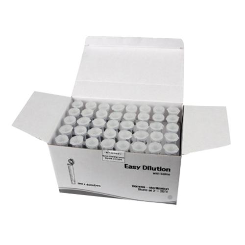 비엔에프코리아 이지 딜루션 미생물 실험용 멸균 생리식염수 9ml x 40p 세트, 1세트