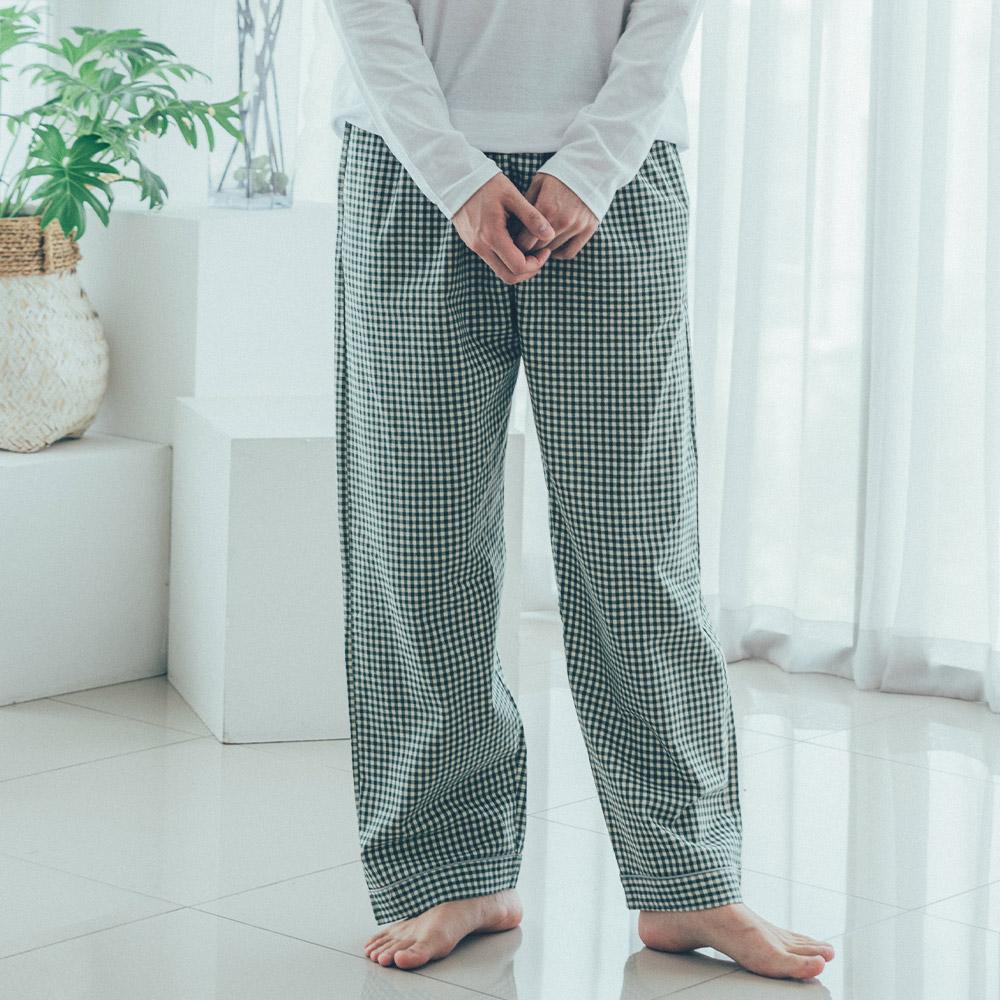 도씨 남성용 순면 9부 잠옷 바지