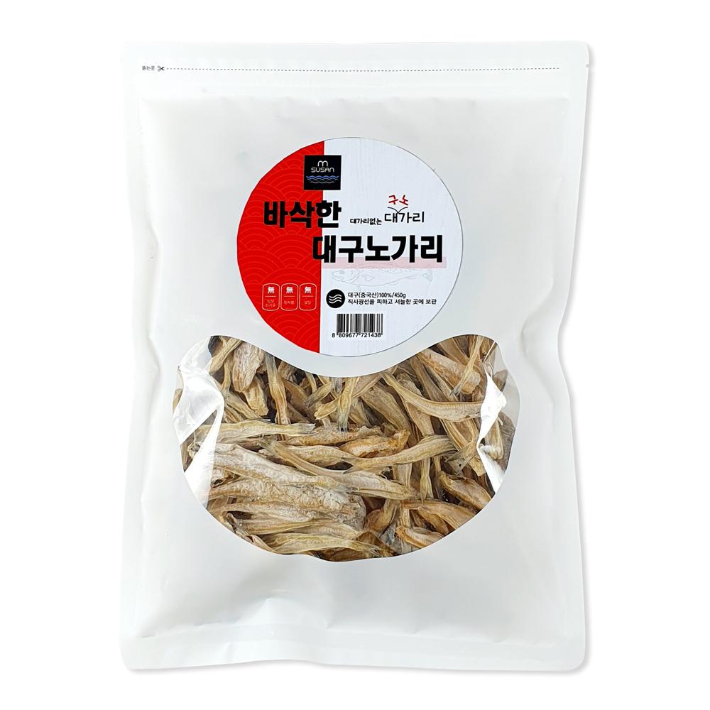 엠수산 바삭한 대구노가리, 450g, 1개
