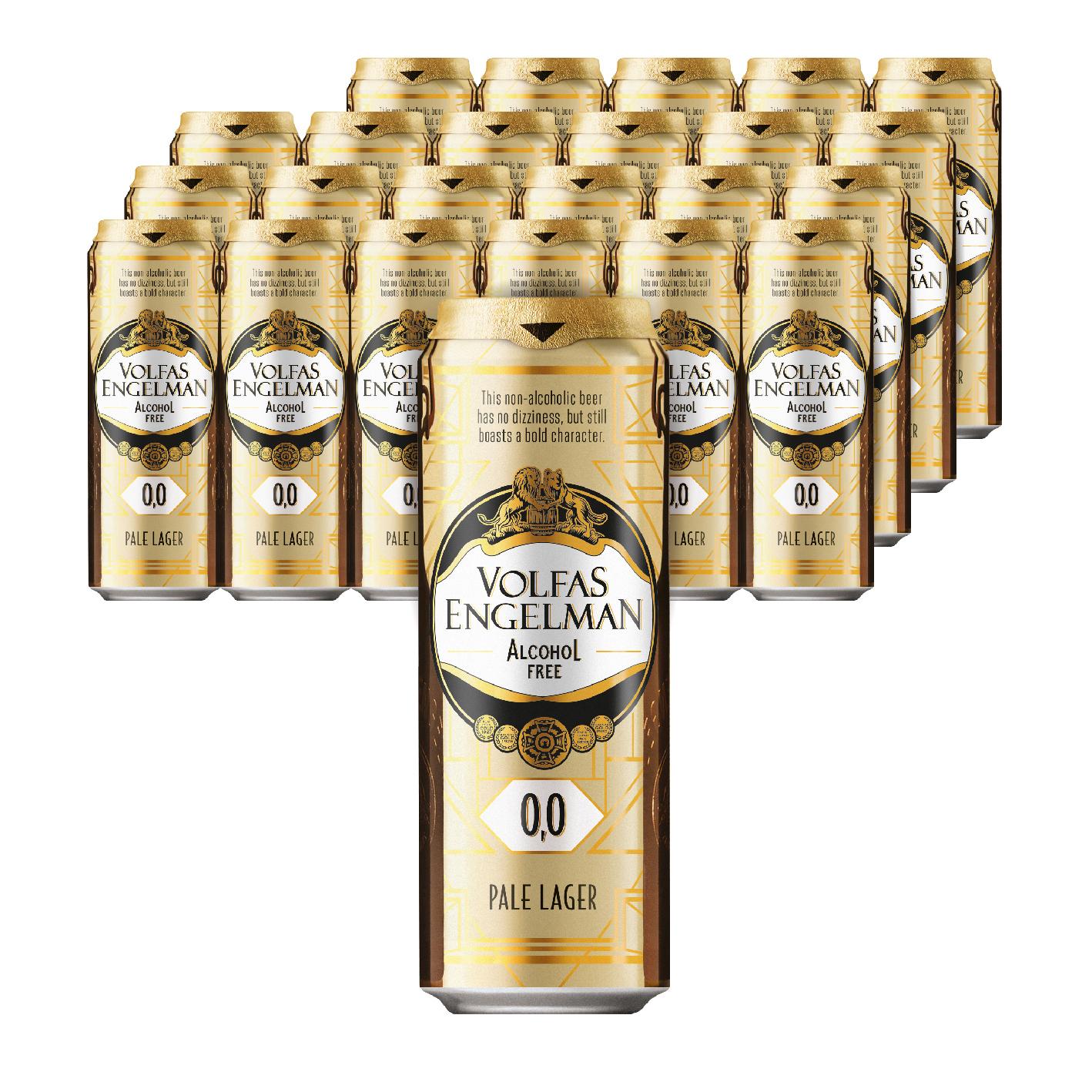볼파스엔젤맨 알코올 프리 무알콜 맥주, 568ml, 24개