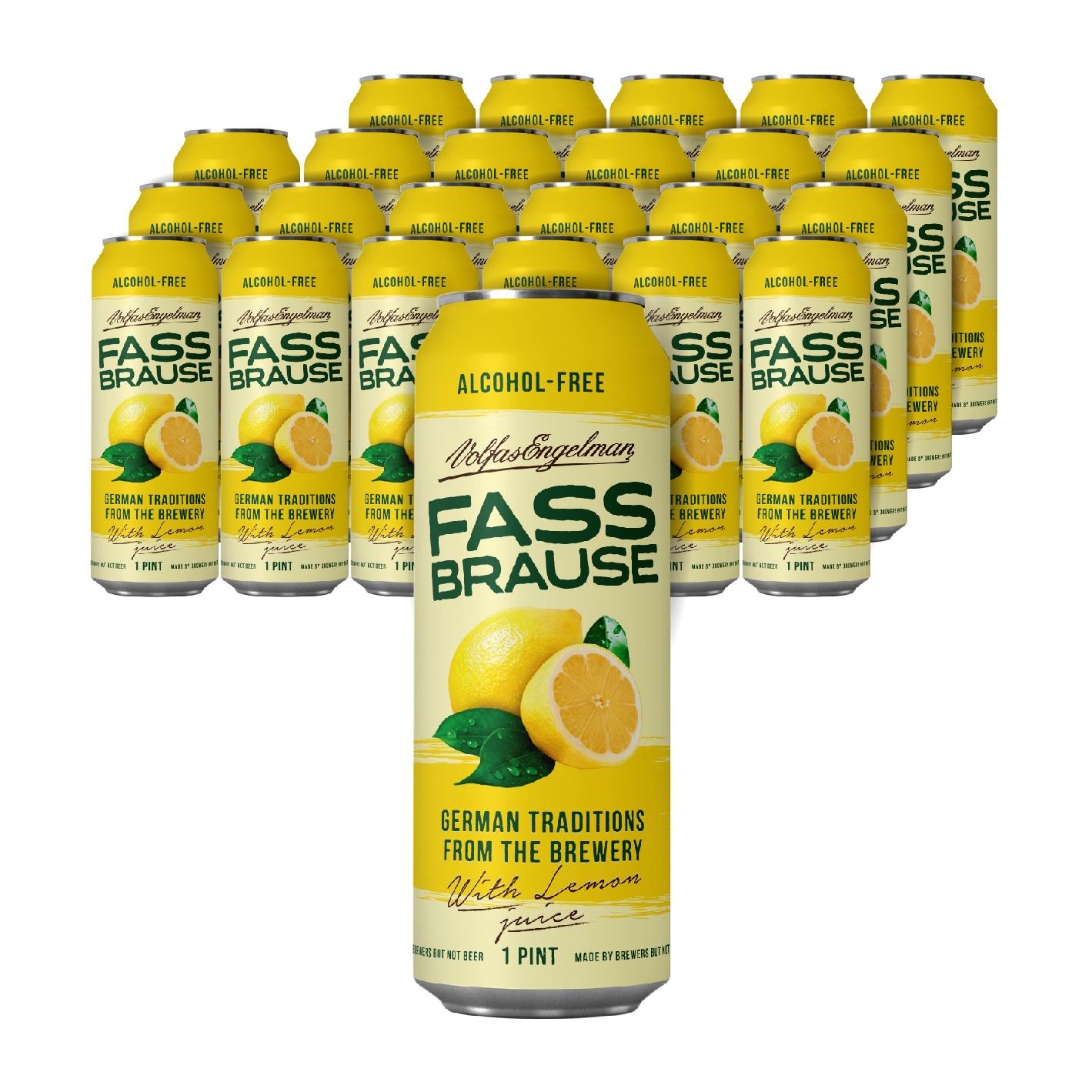 파스브라우스 레몬맛 무알콜 맥주, 568ml, 24개