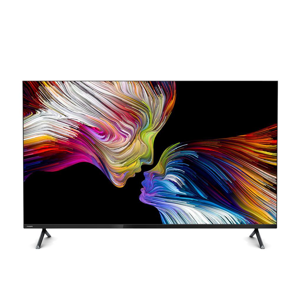 필립스 UHD LED 164cm 구글 안드로이드 스마트 TV 65PUN8215/61, 스탠드형, 방문설치
