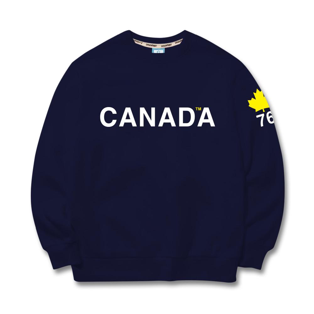 그랜피니 공용 캐나다 맨투맨 GFMT111