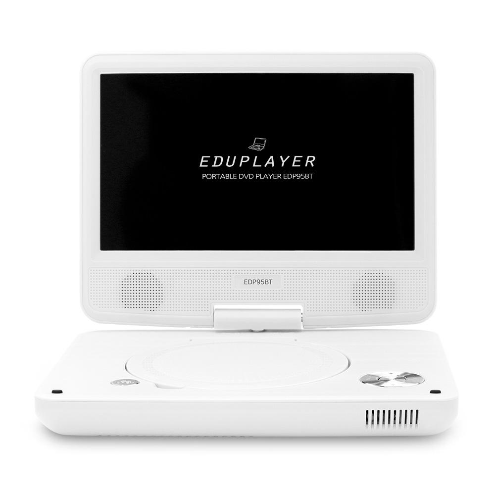 에듀플레이어 휴대용 DVD 플레이어, EDP95BT(화이트)