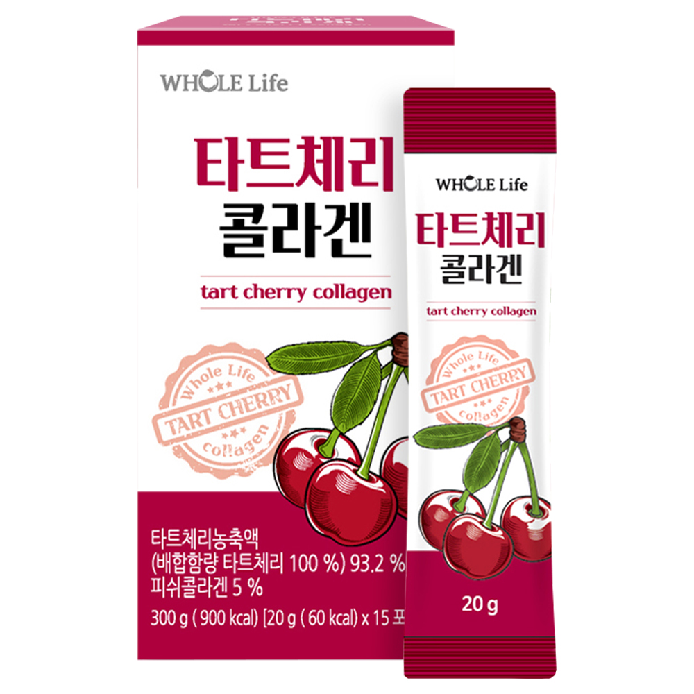 WHOLELIFE 타트체리 콜라겐, 20g, 15개