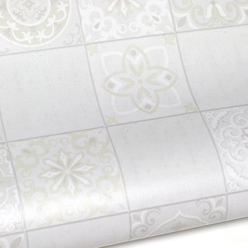 바닥 장판 시트지 점착식 헤링본, 모라타일 아몬드(HBS11)