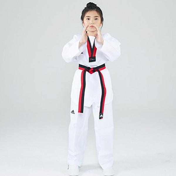 아디다스 챔피언2 태권도 품 도복 JW110141