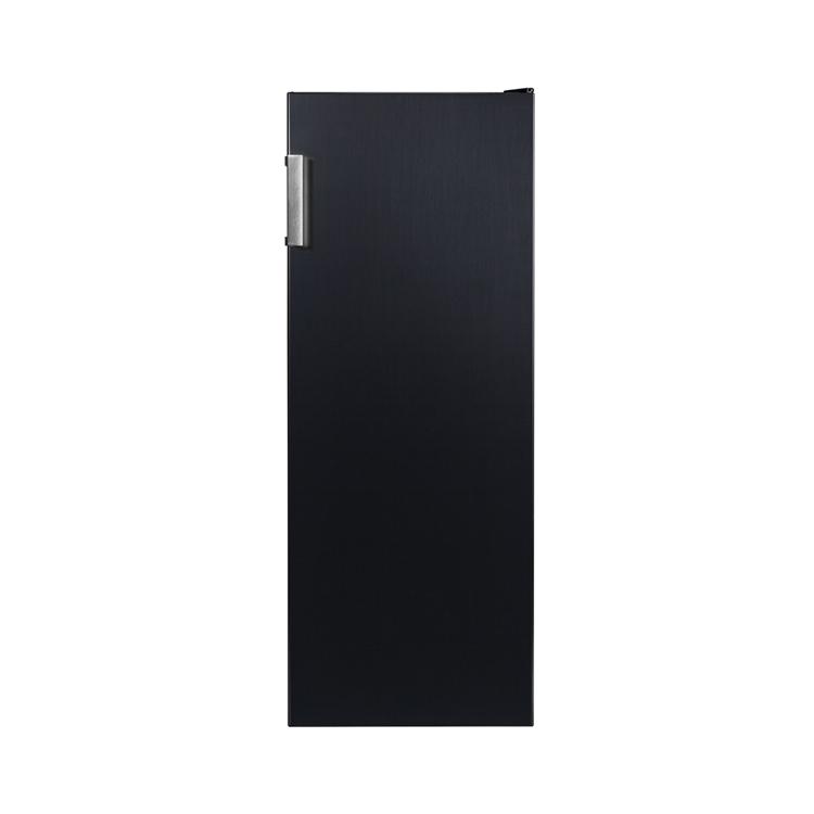 캐리어 클라윈드 스탠드 냉동고 블랙메탈 CFT-N166BSM 166L 방문설치
