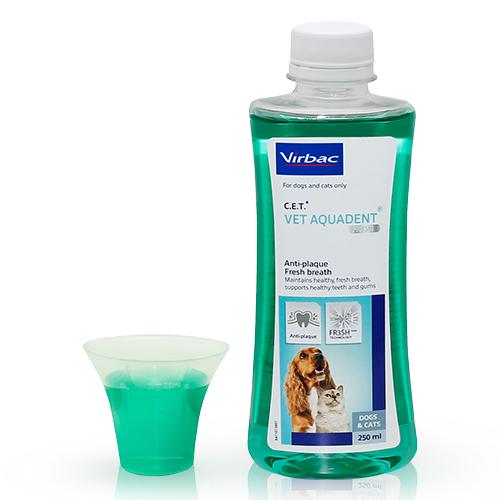 버박 아쿠아덴트 마시는 반려동물 치약, 250ml, 1개